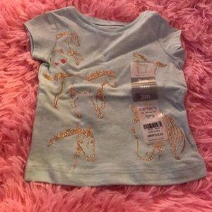 Carter's baby girl shirt